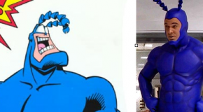 "WHICH TV VERSION OF ""THE TICK"" DO YOU PREFER? LIVE ACTION OR ANIMATED?"
