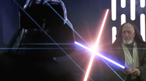 Who's ready for lightsabers with lens flares?