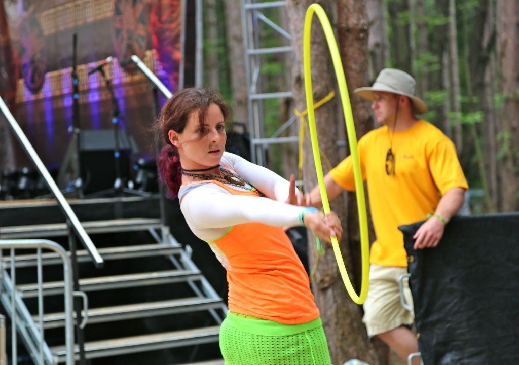 Electric Forest Hula Hoop
