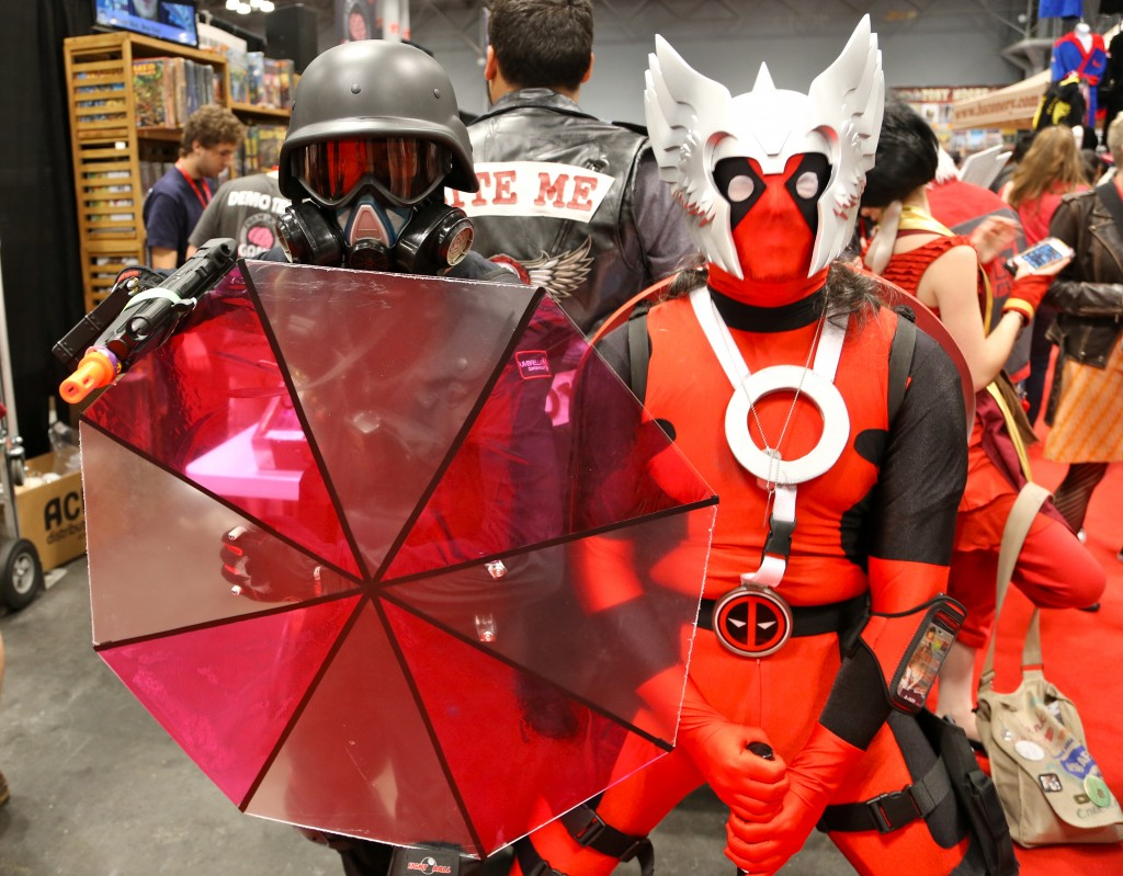 nycc hunk and deadpool thor