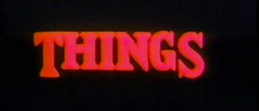 """Things (1989)"" – Elevator Pitch Podcast"