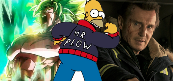 Cold Pursuit / Dragon Ball Super Broly Mr. Plow